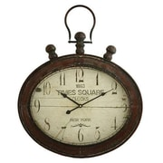 Aspire  Remington Oval Wall Clock, Red (ASPR558)