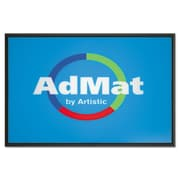 "Artistic Llc  AdMat Counter Mat, 11"" x 17"" Black Base (AZERTY17568)"