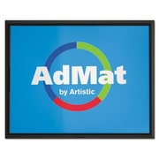 Artistic Llc  AdMat Counter Mat, 8.5 x 11, Black Base (AZERTY17569)