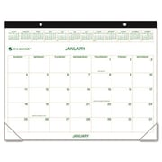 "At-A-Glance GG250000 Two-Color Monthly Desk Pad/Wall Calendar 22"" x 17"" (AZRAAGGG250000)"