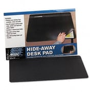 Artistic  Hide-Away PVC Desk Pad  31 x 20  Black (AZRAOP48043S)