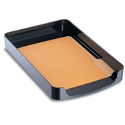 Officemate International  2200 Series Front-Loading Plastic Legal Desk Tray, Single Tier - Black (AZTY10572)