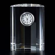 """Badash Su311 Clock  4.5"""" x 3.5"""" Half Moon (BDCR635)"""