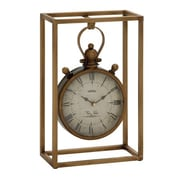 Benzara  Fabulous and Unique Metal Table Clock (BNZ10556)