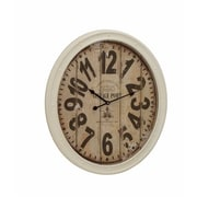 Benzara  Buckingham Contemporary Styled Metal Wall Clock (BNZ11579)