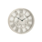 Benzara  Aluminum Wall Clock - 18 in. D (BNZ13469)