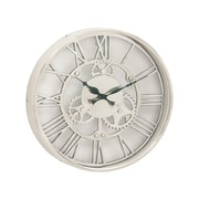 Benzara  Attractive Aluminum Wall Clock - 14 in. D (BNZ13470)