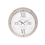 Benzara  The Modern Stainless Steel Wall Clock (BNZ8349)