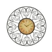 A nation   Vintage Styled Metal Outdoor Clock (BNZ9972)
