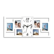 Creative Motion  Clock with 6 Frames 4 by 3.14 inch (CRML408)