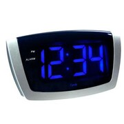 La Crosse Technologies  Led Blue Digit Usb Alarm Clock (DH75904)