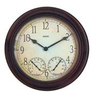 Taylor  Sf 14 Inch Metal Garden Clock (DH91579)