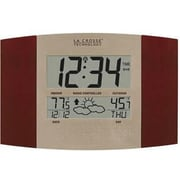 La Crosse Technology  LC Atomic Digital Wall Clock (DHWS8157UCHIT)