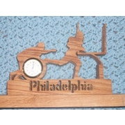 Fine Crafts  Philadelphia football player mini desk clock (FNCRF392)
