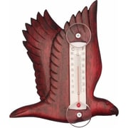 Songbird Essentials Flying Stained Eagle Small Window Thermometer (GC16844)
