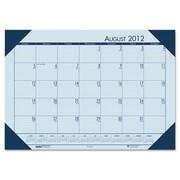 House of Doolittle  Desk Pad  Blue Hldr-Blu Paper (HSODL002)