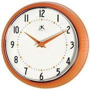 Infinity Instruments  9.50 in.  Retro Round Metal Wall Clock (INFIN41)