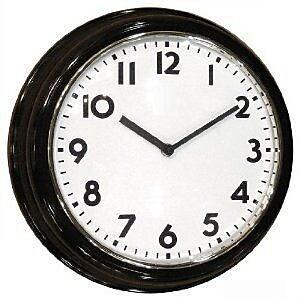 KJB Security Products Digital Transmitter Wall Clock (KJB726) 2394578