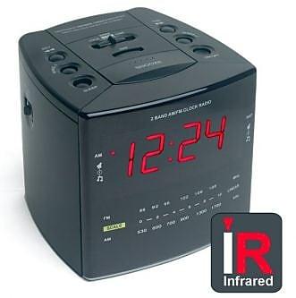 KJB Security Products Digital Transmitter IR Alarm Clock (KJB758) 2394576