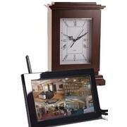 KJB Security Products  Digital LCD Wireless Rectangle Clock (KJB883)