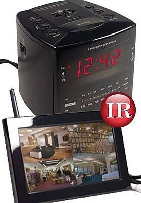 KJB Security Products Digital LCD Wireless IR Alarm Clock (KJB891) 2394577