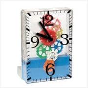 Maples Clock  Moving-gear Desktop Clock (MPLS115)