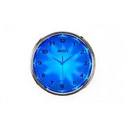 MAPLE'S CLOCK  12'' Blue LED Plastic Wall Clock (MPLS377)