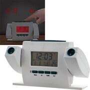 Dual Projection Alarm Clock with FM Radio (POKER15046)