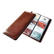 Raika  96 Desk Card Case - Brown (RKA04130)