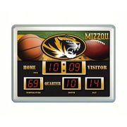 Evergreen Enterprises  Missouri Tigers Scoreboard Wall Clock (RTL385797)