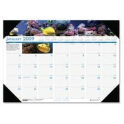 "House of Doolittle HOD193 Desk Pad-""Panoramic Photo-""12 Months- Jan-Dec- 22in.x17in.  (SPRCH16337)"