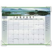 At-A-Glance AAG89802 Monthly Desk Calendar- Landscape Panoramic Scenes- 22in.x17in. (SPRCH16579)