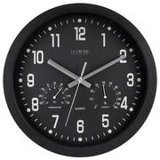 La Crosse Technology Ltd 404-2631 12 in. Black Plastic Wall Clock (TRVAL83956)