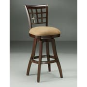 Impacterra Kingston 26'' Swivel Counter Stool in Cosmo Amber