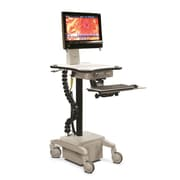 Best Mounting Height Adjustable Mobile Powered Medical AV Cart