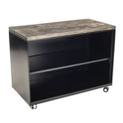 Urban 9-5 Storage Cabinet; Ebony Stained