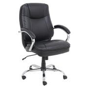 Barcalounger High-Back Office Chair with Arms; Black