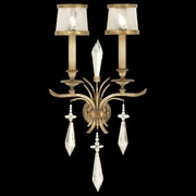 Fine Art Lamps Monte Carlo 31'' 2 Light Wall Sconce