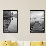 MCSIndustries 2 Piece Trendsetter Picture Frame Set (Set of 2); 34'' x 22''