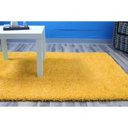Super Area Rugs Yellow Area Rug; 5' x 8'