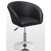 BestMasterFurniture Adjustable Swivel Coffee Arm Chair; Black
