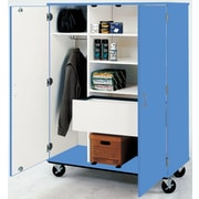 Stevens ID Systems Mobiles Wardrobe with File Drawer