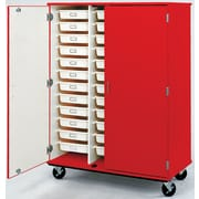 Stevens ID Systems Mobiles 36 Trays with Doors and Lock