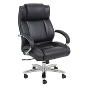 Barcalounger High-Back Office Chair with Arms; Brown