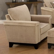 Wildon Home   Opulence Club Chair; Taupe