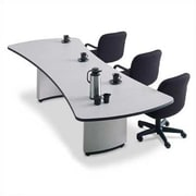 ABCO Conference Table with Curved Plinth Base