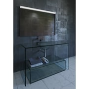 Nezza Saga Contemporary LED Bathroom Mirror; 24.75'' H x 36'' W x 1.5'' D