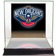 Steiner Sports NBA Logo Background Case; New Orleans Pelicans