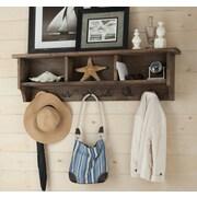 Alaterre Pomona Entryway Coat Hook with Storage Cubbies