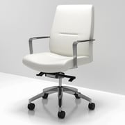 Krug Inc. C5 Mid Back Leather Conference Chair